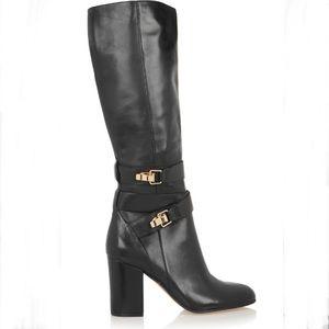 Sam Edelman FairBanks Black Leather Boots